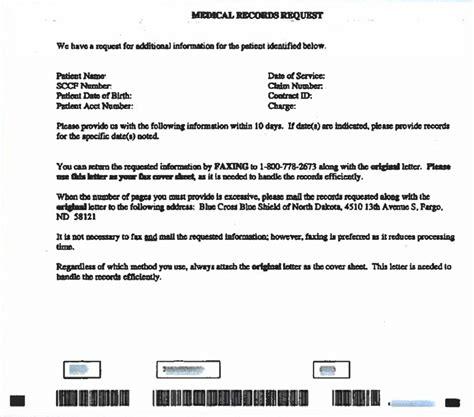 medical records reminder healthcare news bcbsnd
