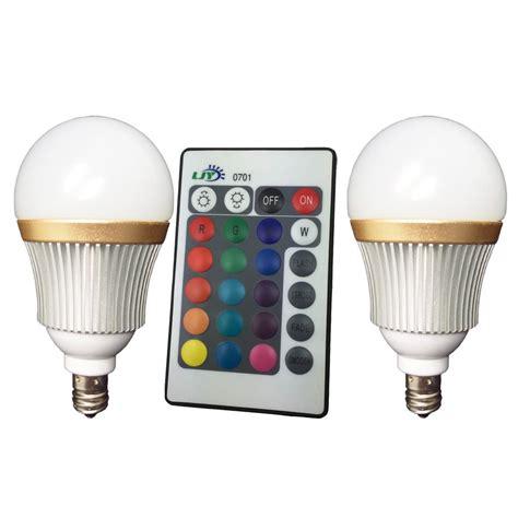 Ac 3 4 Pk Termurah best ljy 2 pack e12 candelabra 3w rgb led light remote color changing globe bulbs ac 100