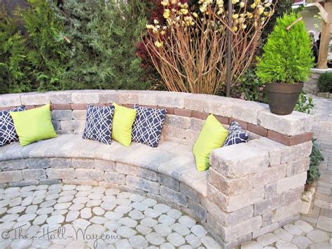 how to make a patio bench outdoor bench with pavers search outside lawn