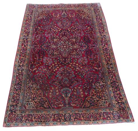 3x6 rugs 4 3x6 7 antique sarouk rug traditional area rugs by rug galaxy