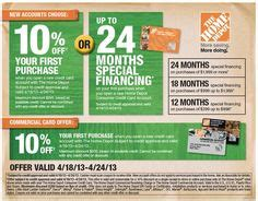 the home depot has a special financing offer for labor day