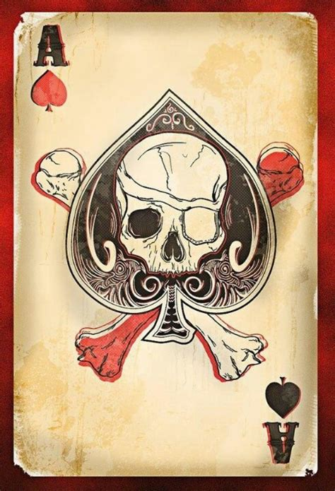 deck of cards tattoo 54 best ace of spade images on cards