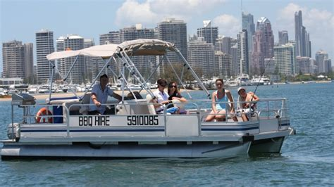 fishing pontoon boat cost pontoon boat hire with bbq full day