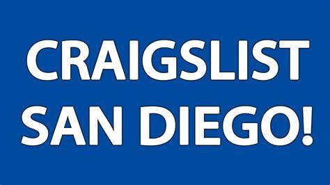 Craigslist San Diego   YouTube