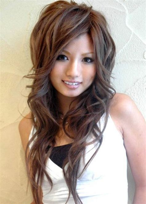 hairstyles with lots of crown layers 17 best ideas about layers and bangs on pinterest long