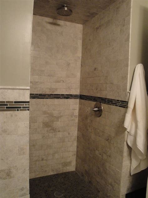marble and subway tile bathroom marble subway tile bathroom
