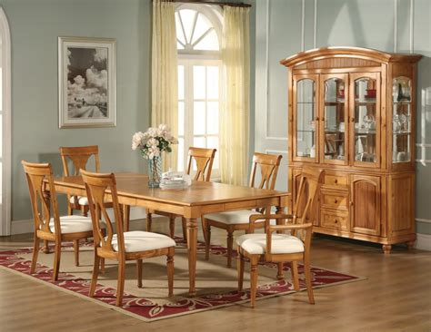 light oak dining room sets home remodeling ideas