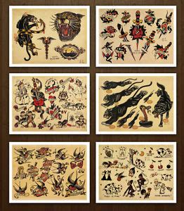 vintage tattoo photo prints 1000 images about s jerry tattoos on pinterest