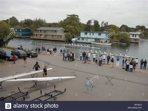 thames river boat club at molesey boat club on the river thames two eights race