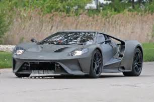 spied 2017 ford gt mule ditches show car s