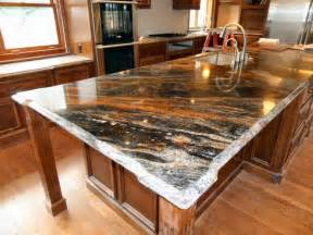 countertops for kitchen islands granite kitchen island pictures and ideas