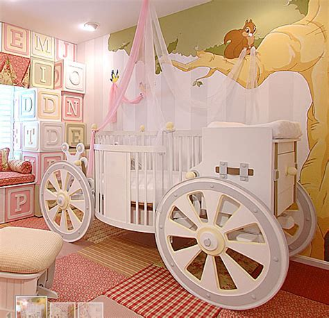 Cinderella Carriage Crib by Designer Baby Wow