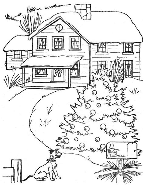 christmas tree farm coloring page from quot under the christmas tree quot coloring book free digis