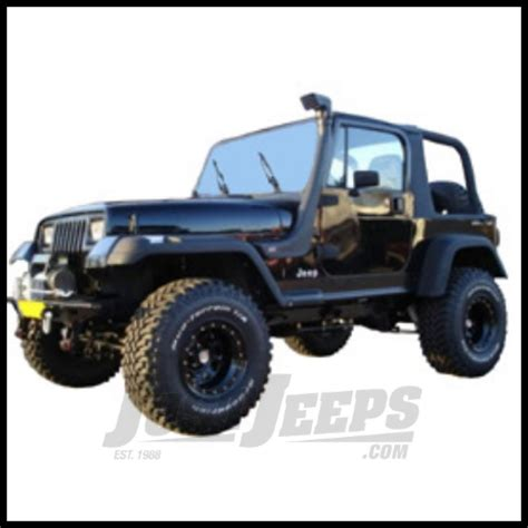 jeep yj snorkel just jeeps buy arb safari snorkel kit fits 1991 95 jeep
