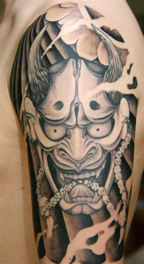 hannya mask tattoo the gallery for gt hannya