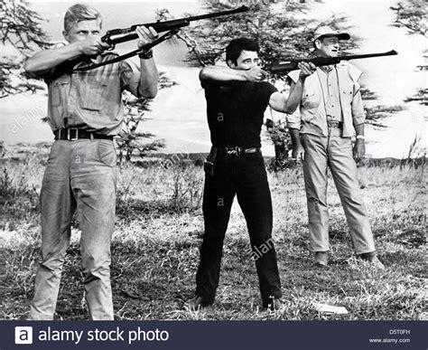 gerard blain taille hardy kruger gerard blain john wayne hatari 1962 stock