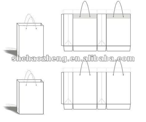 paperbag template paper bag design template buy paper bag paper bag design
