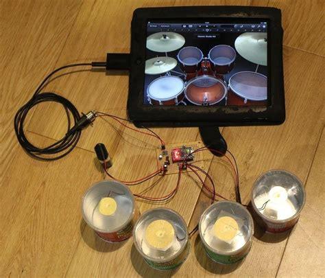 Garageband Drum Kits Rock Harder On Garageband With A Diy Pringles Can Drum Kit