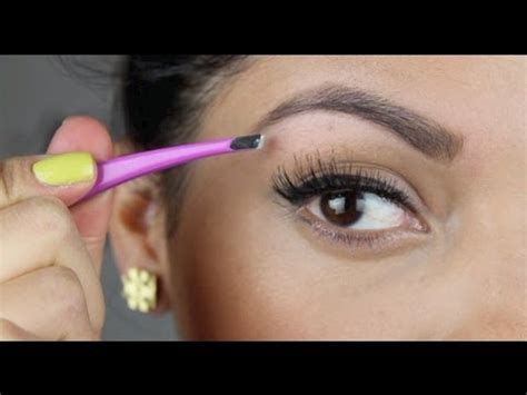 proper way to fill in eyebrows how to fill in and shape your eyebrows youtube