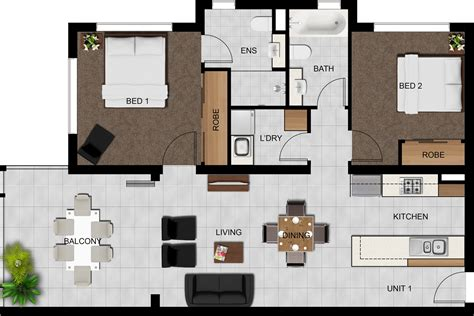 plan view image gallery 2d floor plan images transport overhead view