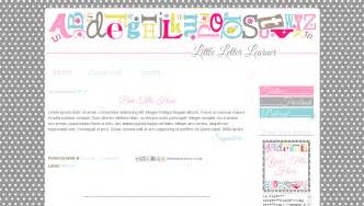 free letter templates for teachers templates for teachers grey pink letter