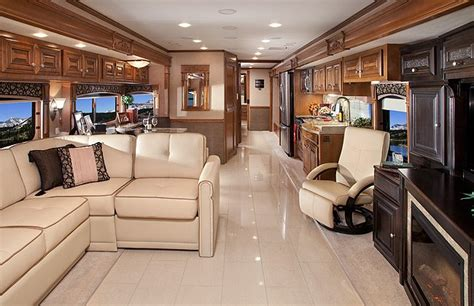 Four Winds Travel Trailer Floor Plans by Inside Luxury Rvs Extreme Rv Interiors Luxury