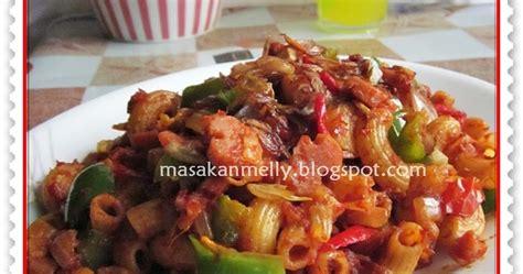 Cabe Bubuk Babas masakan melly macaroni goreng pedes