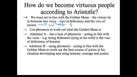 applying aristotles virtue ethics youtube