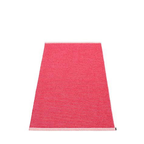 Plastic Kitchen Rugs Mono Plastic Rug 85 Cm Wide Cherry 183 Pink Pappelina