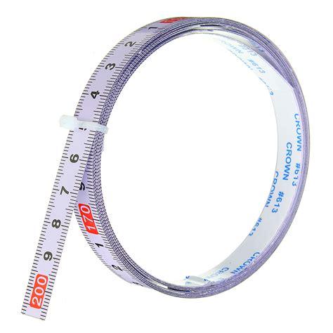 adhesive metric ruler miter track tape measure steel