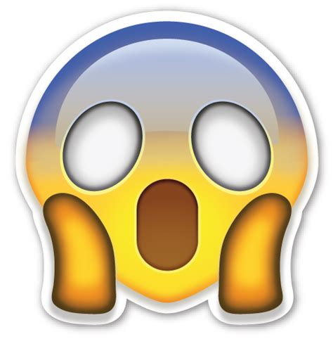 imagenes whatsapp sorpresa face screaming in fear emoticones emoji emoticonos y caras