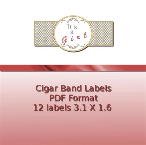cigar band labels ashlisoapblog