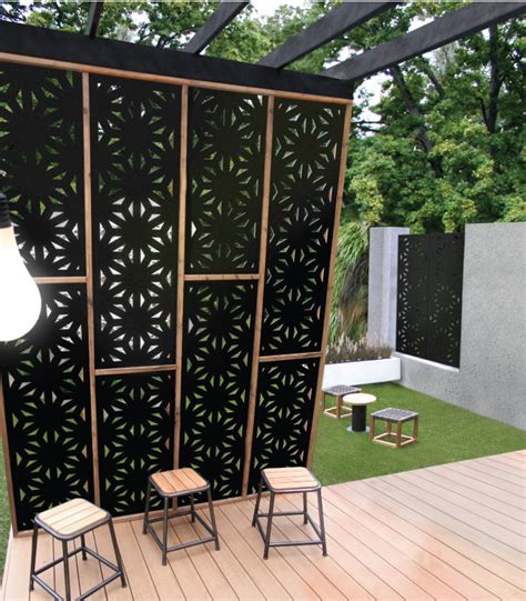 decorative outdoor screens project gallery outdoor decorative privacy screens exles