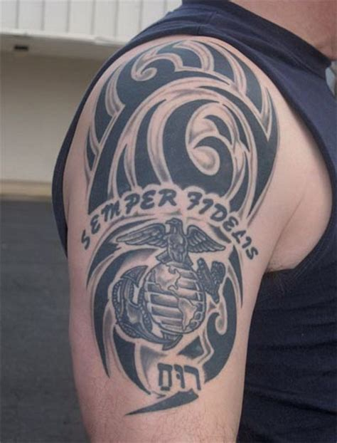 tribal army tattoos 34 best images about usmc tats on marine corps