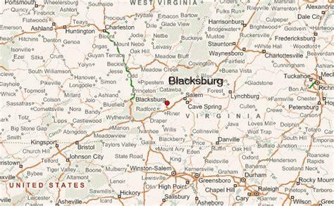 blacksburg va map blacksburg virginia location guide