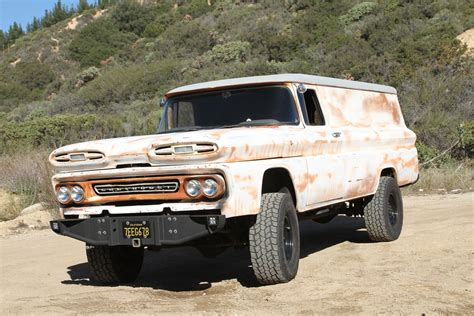 chevy suburban 1960 chevy suburban meets diesel performance