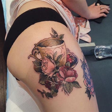 tea cup tattoo best 25 teacup ideas on