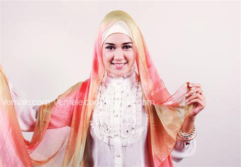 tutorial jilbab segi empat acara resmi gambar tutorial hijab untuk wisuda