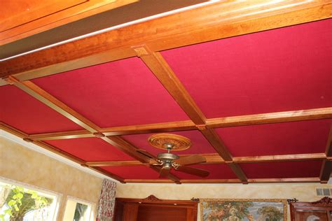 How To Cover A Ceiling With Fabric by Wes Home Theater Gallery Cinema 67 Photos