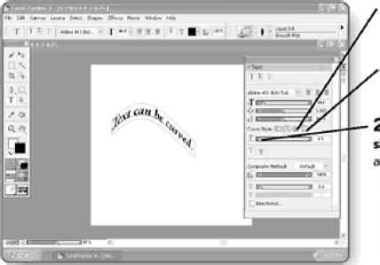 how to curve text in coreldraw x5 wrapping text around a path corel painter basics