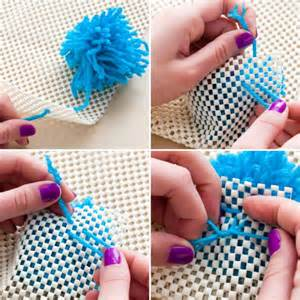 pompom teppich como fazer tapete de pompom de l 227