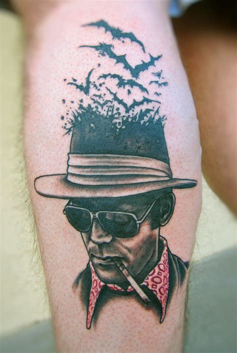 hunter s thompson tattoo tattoos by mike biggs biggs studio new