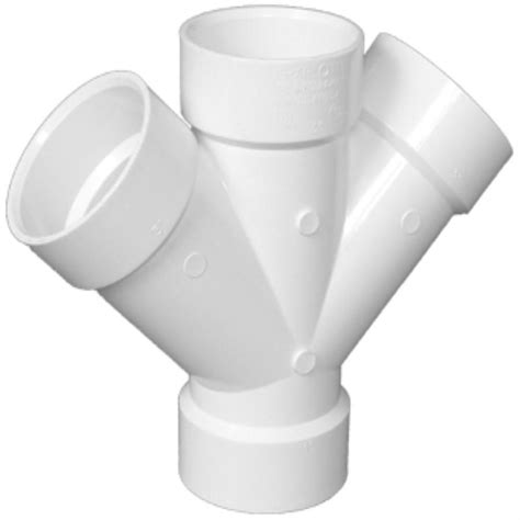 Hutch Plans Free Shop Charlotte Pipe 6 In Dia 90 Degree Pvc Double Wye