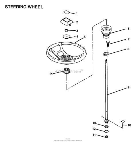 steering wheel parts diagram ayp electrolux lr120ar 1999 before parts diagram for