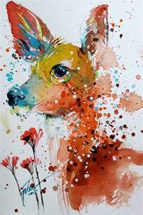 water color animals 1000 ideas about animal paintings on