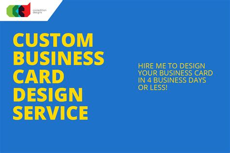 custom business card template custom business card design service business card