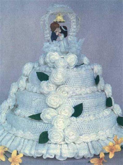 wedding gift knitting patterns crochet accessories crochet gift patterns wedding or anniversary cake