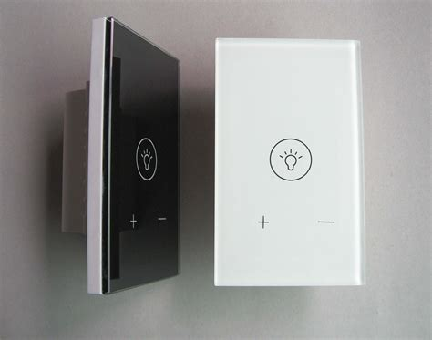Light Dimmer Switch by Us Standard Touch Dimmer Switch Touch Dimmer Function Light Switch Glass Panel Light Dimmer