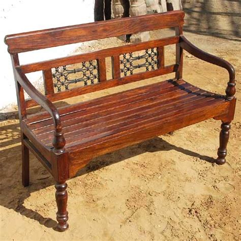 iron benches indoor rustic solid wood transitional iron indoor outdoor patio