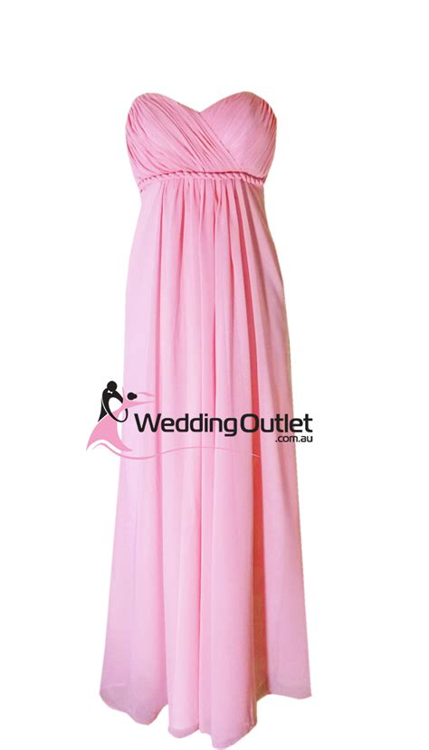 Dress Baby Pink Grey summer pink sweet bridesmaid dress style d101
